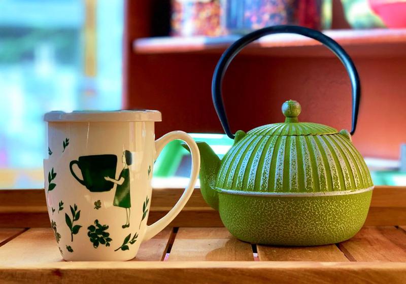 Preparare una buona tazza di tè verde